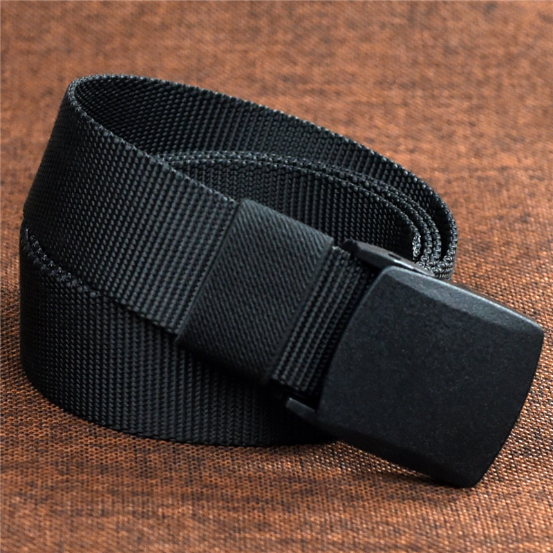 Automatic Buckle Nylon Belt Male Army Tactical Belt Men s Military Waist Canvas  Belts  1e987bbf8f0