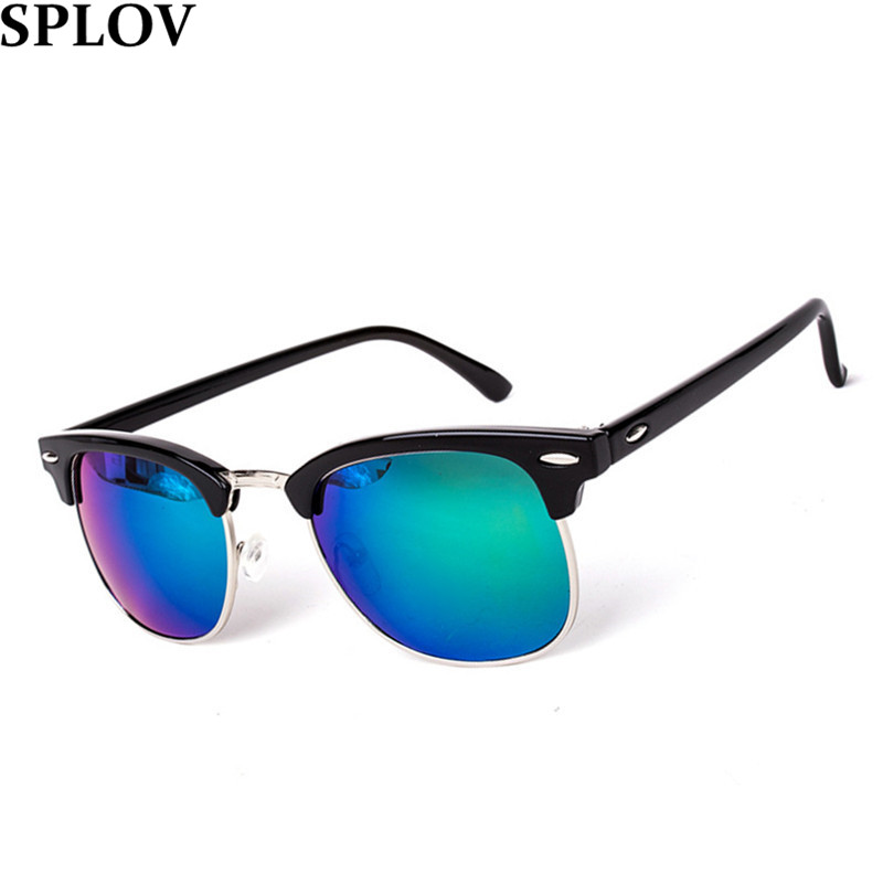 6929eda7910 Metal High Quality Sunglasses Men Women Brand Designer Glasses Mirror
