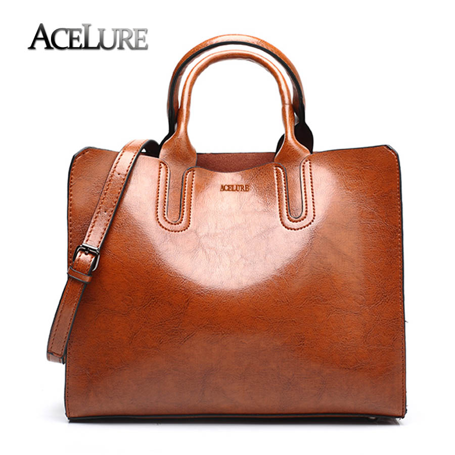 Leather Handbags Women Bag High Quality Casual Female Bags Trunk Tote Spanish Brand Shoulder Las Large Bolsos