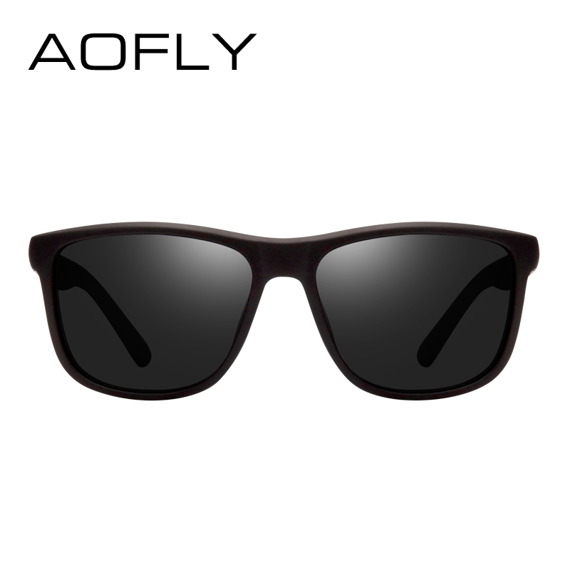 3dd0a9bcd7 AOFLY Brand Design Polarized Sunglasses Men Driving Sun Glasses Vintage  Retro Mirror Goggle Eyewear Male Gafas De Sol AF8031