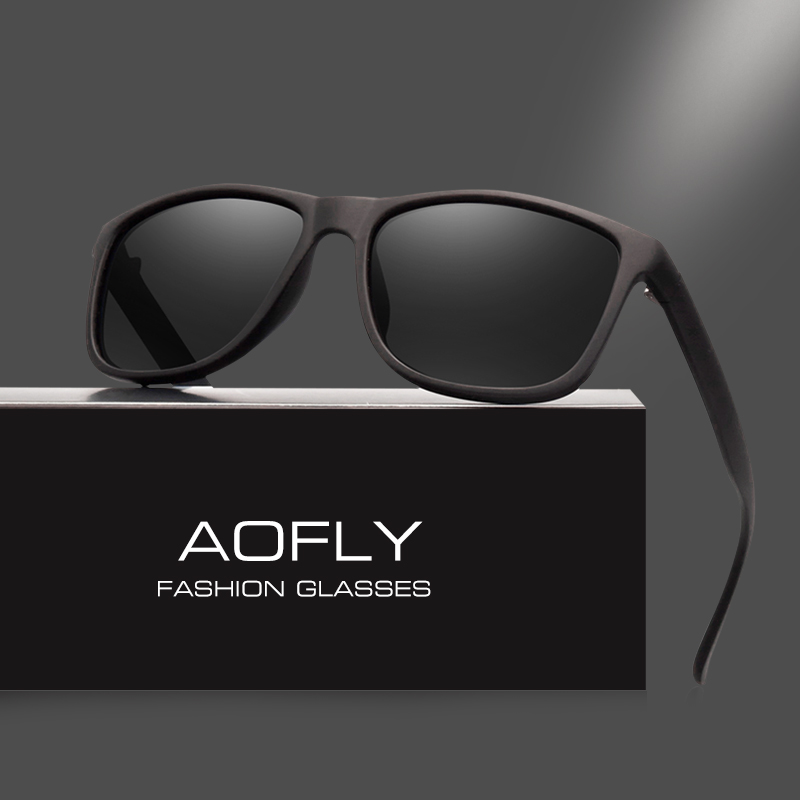 c24e90df3e AOFLY Brand Design Polarized Sunglasses Men Driving Sun Glasses Vintage  Retro Mirror Goggle Eyewear Male Gafas De Sol AF8031
