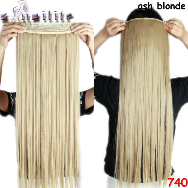 S Noilite 18 30 Inches Clip In Hair Extensions 34 Full Head 5 Clips