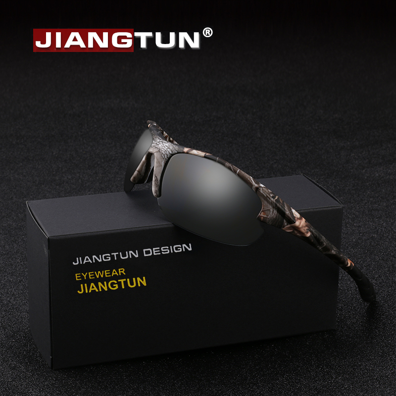 0b028417a32 JIANGTUN New Camo Polarized Sunglasses Men Brand Designer Outdoor Fishing Driving  Glasses ...