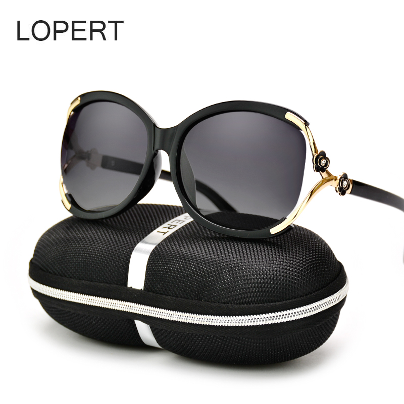 452a6b48a7 LOPERT Cat Eye Polarized Sunglasses Women Fashion Glasse Brand Designer  High Quality Female Driving Sun Glasses Oculos ...