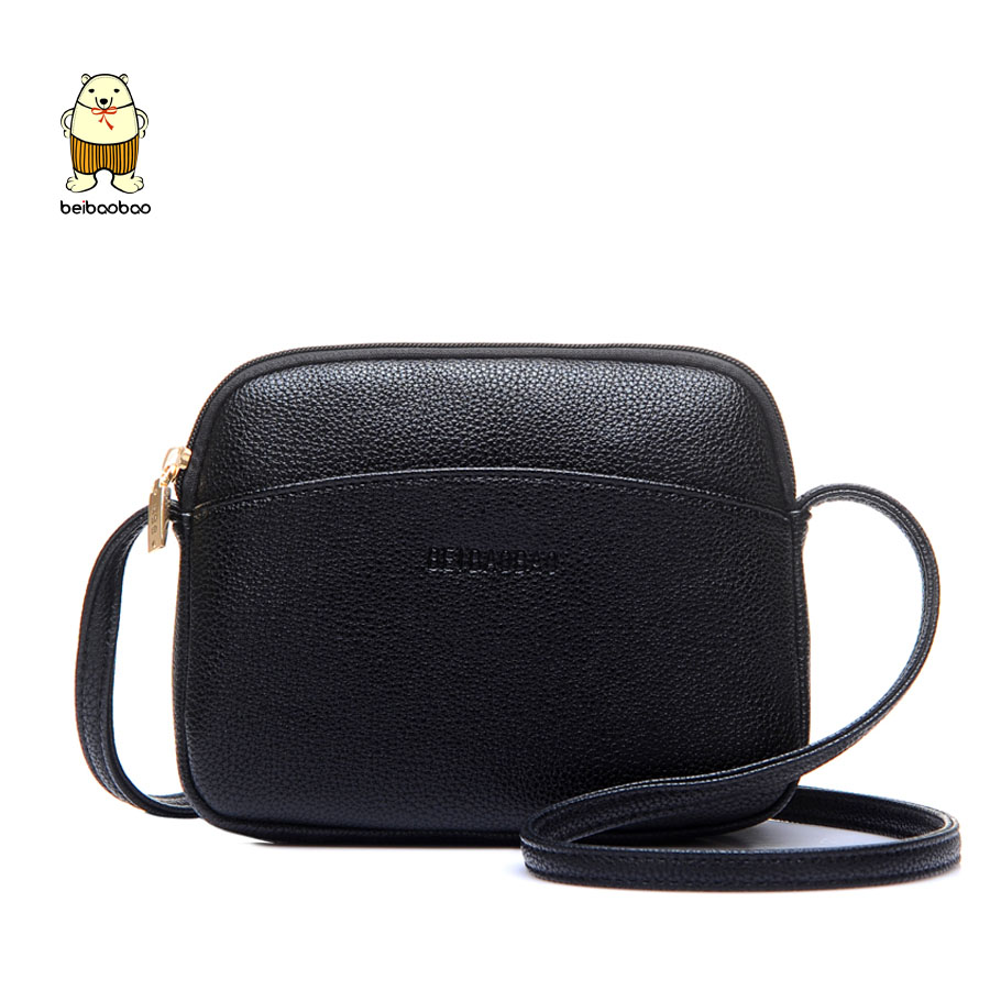 Beibaobao 2018 New Pu Leather Women Messenger Bags Fashion Shoulder Bag Female Handbags Lady Crossbody Flap ...
