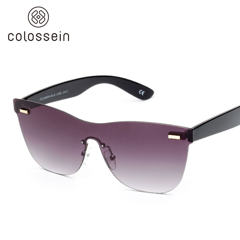238375258a COLOSSEIN Square Sunglasses Women Fashion Men brand designer Modern ...
