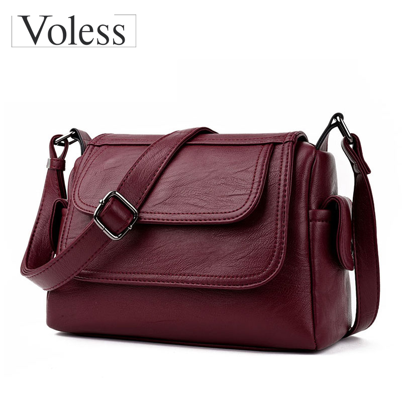 d79fb73900 Fashion Woman Bag Leather Crossbody Bags For Women Messenger Bags Female Shoulder  Handbag ...