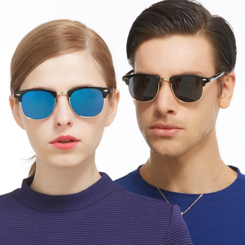 9079a6d491 2018 Half Metal HD Polarized Classic Sunglasses men women Brand ...