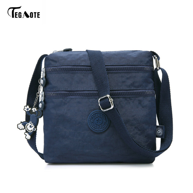 105ab4048541 TEGAOTE Luxury Women Messenger Bag Nylon Shoulder Bag Ladies Bolsa ...