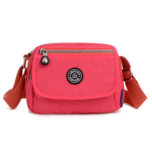21f50586dd Waterproof Nylon Women Messenger Bags Small Purse Shoulder Bag Female  Crossbody ...