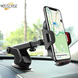 Raxfly Luxury Car Phone Holder For Iphone X Xs 8 7 Plus Windshield