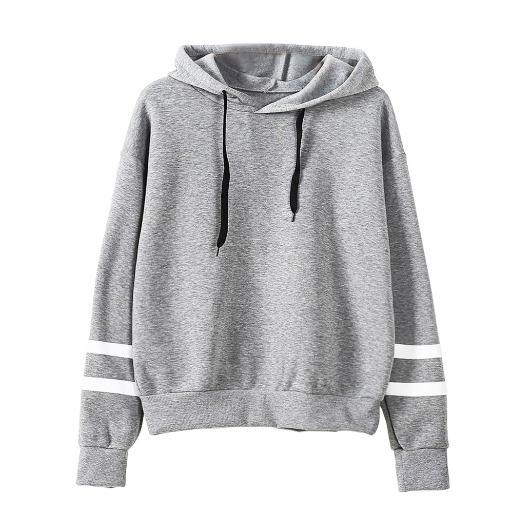 76d873620b42 ... Top Hoodie Sweatshirt Ladies Hooded Pullover Source · 2018 Autumn Women  Hoodie Casual Long Sleeve Hooded Pullover