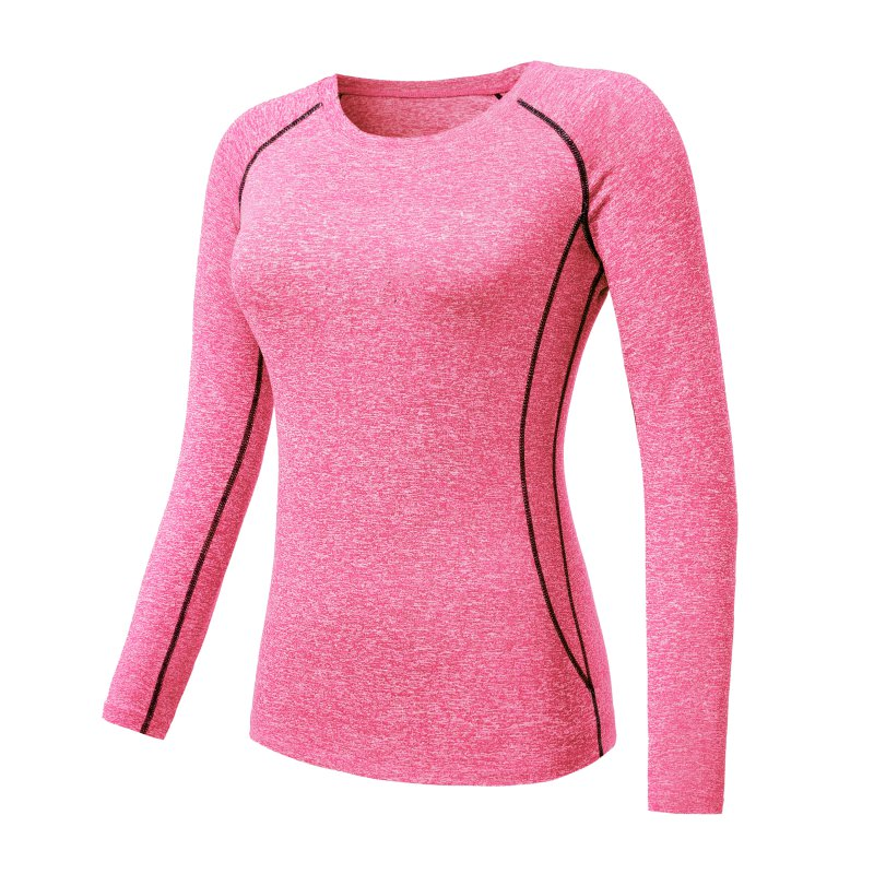 babab981e74 2018 Fashion Newest Autumn Women Compression Long Sleeve T-Shirts ...
