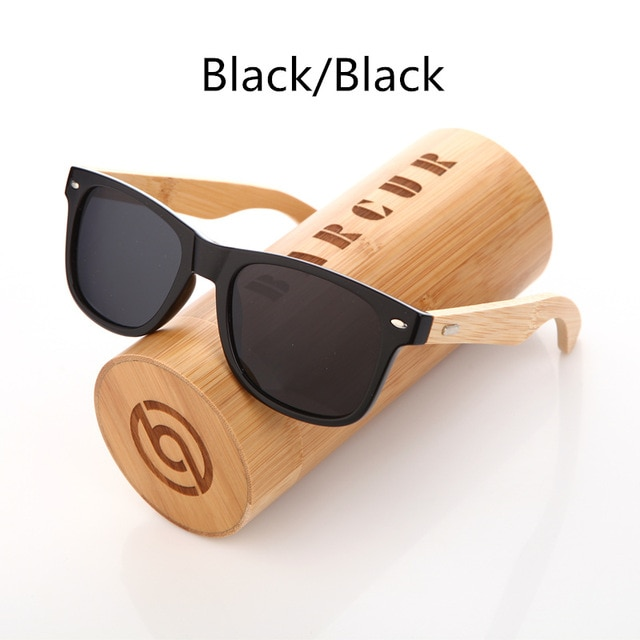 2bacc5b6425 BARCUR Bamboo Polarized Sunglasses Men Polarized Wooden Sun glasses Women  Brand Original Wood ...