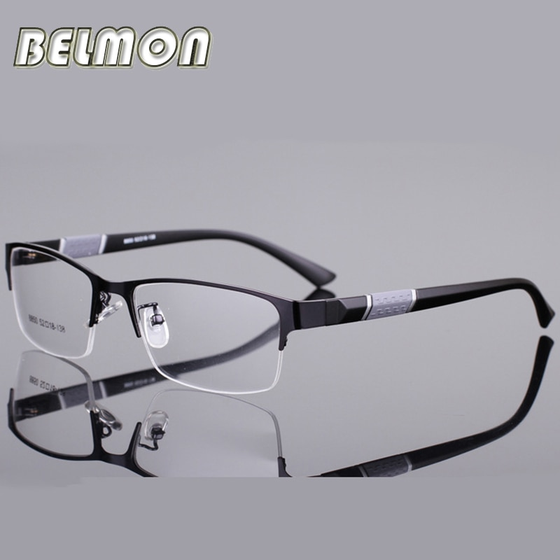 0cfd058a94f Belmon Spectacle Frame Men Eyeglasses Korean Nerd Computer Prescription ...