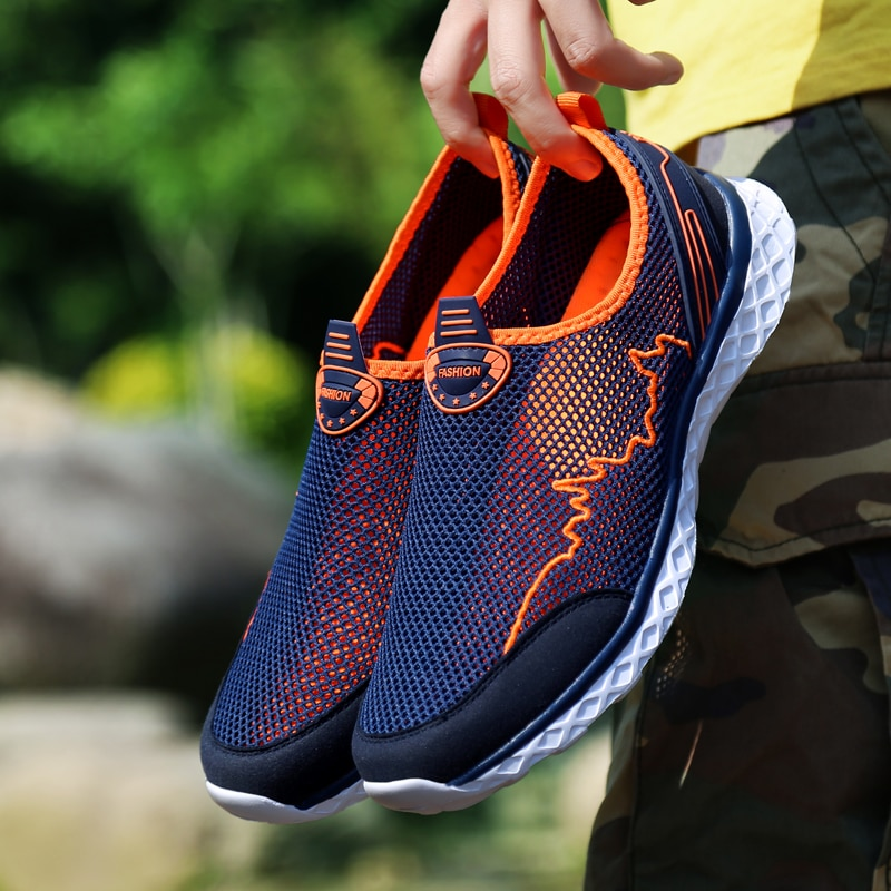 MAISMODA Summer Outdoor Shoes Men Women Lightweight Breathable Mesh ... a503ef54a959
