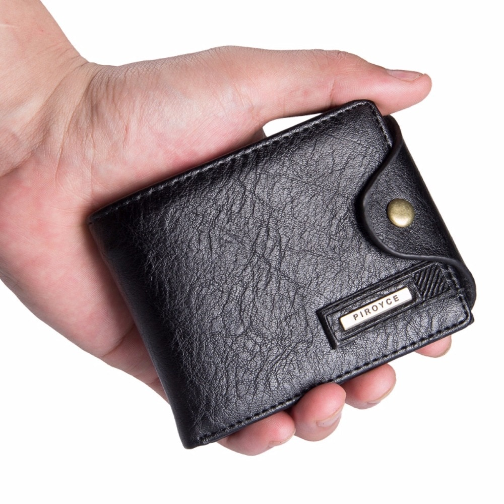 48c2743eec71a Small wallet men multifunction purse men wallets with coin pocket zipper men  leather wallet male ...