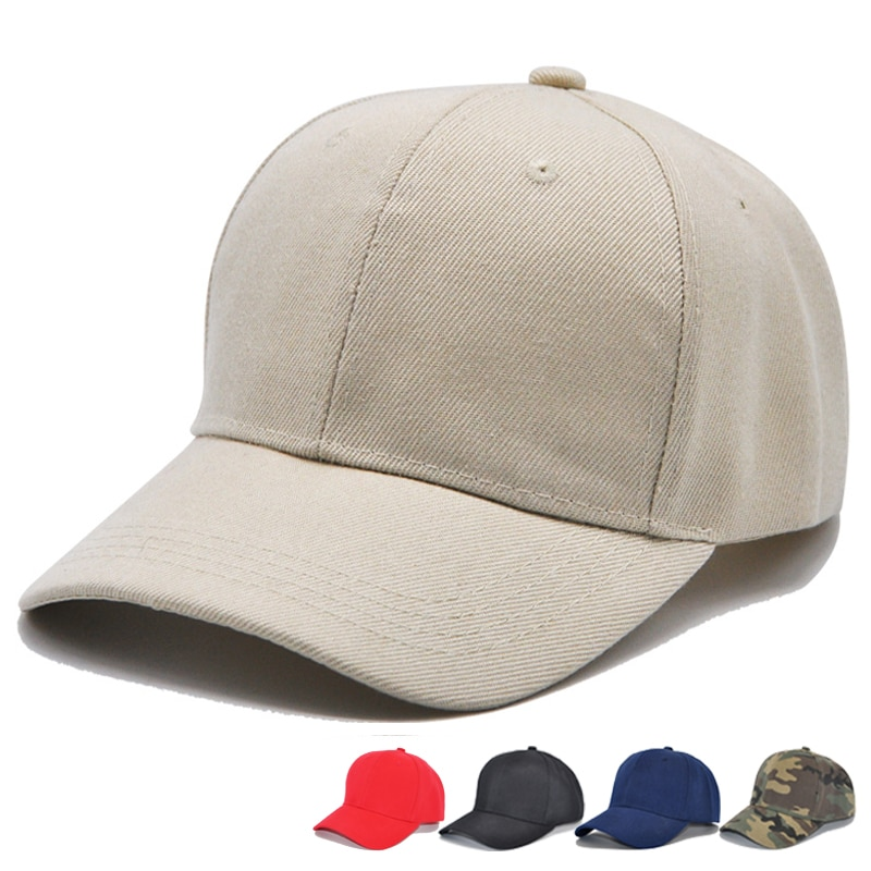 Spring Adjustable Cotton Cap Men Women Multicolor Ponytail Baseball ... 90121589e6b