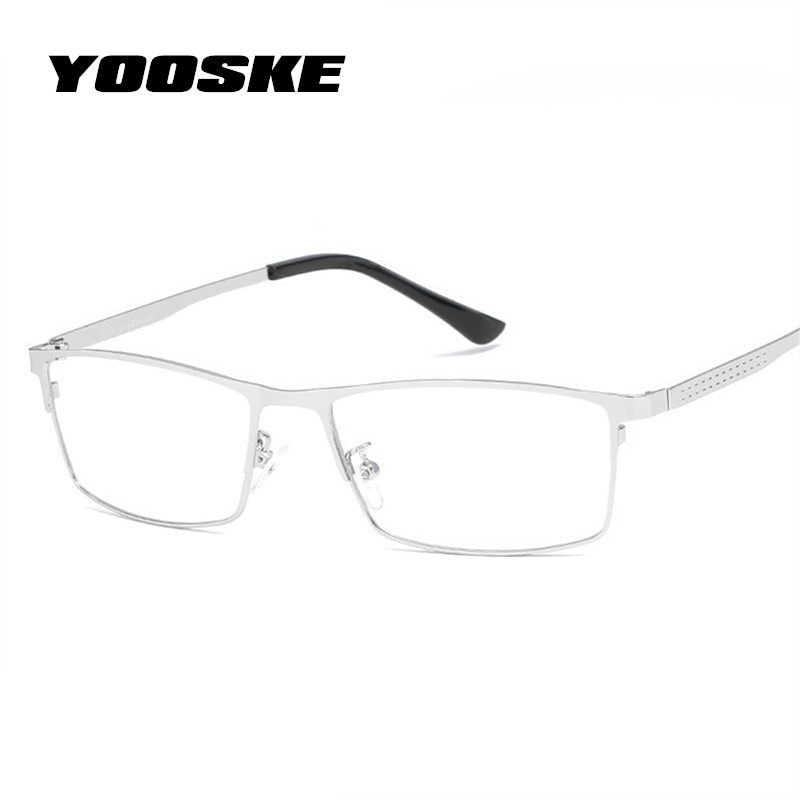 4190096a819 YOOSKE Blue Light Filter Glasses Frame Men Computer Gaming Goggles  Eyeglasses ...
