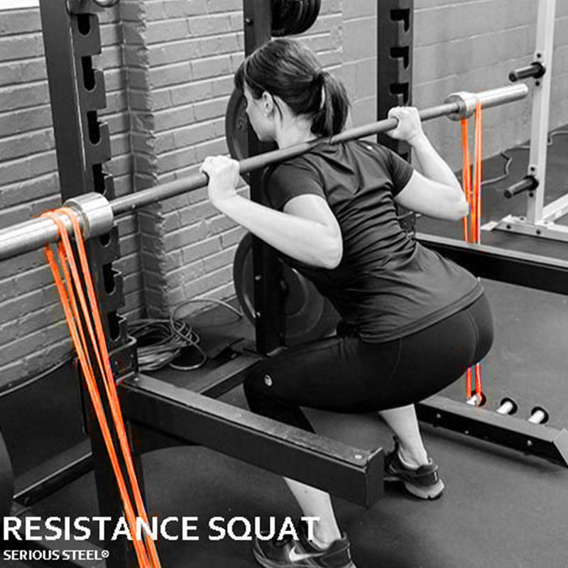 Resistance Band Exercise Elastic Band Workout Ruber Loop